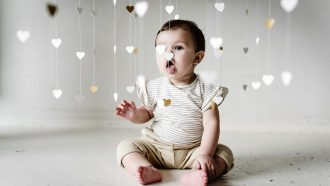 baby nieuwe collectie heart of gold
